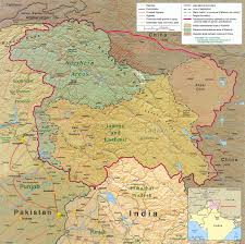 Pakistan On Map Of World by Two Maps Of Kashmir That Make More Sense Than One Big Think