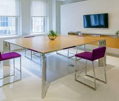 Contemporary Conference Tables by Contemporary Conference Table Large Square Steel Ambience Doré