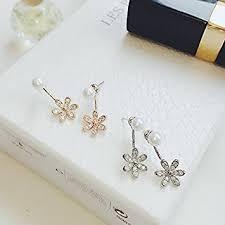 hypoallergenic earrings s s hypoallergenic earrings earrings pearl