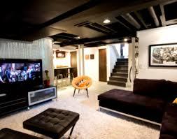 small finished basement ideas medium nightstands living room