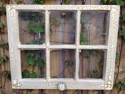 old window ivory and bronze crackle frame with by eightysix56