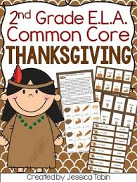 thanksgiving activities for 2nd grade ela by tobin