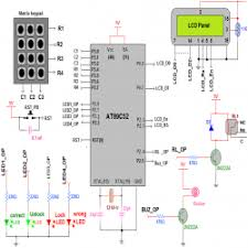 circuit diagram for one time programmable password lock