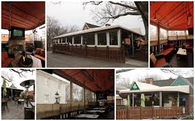 Alpha Awnings Outdoor Bar Dining Area With Custom Patio Awning And Cafe Curtain