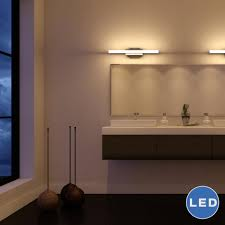 procyon vmw11000al 23 u2033 modern bathroom led light aluminum finish