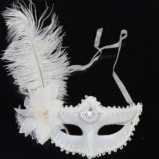 white mardi gras mask buy mardi gras white and get free shipping on aliexpress