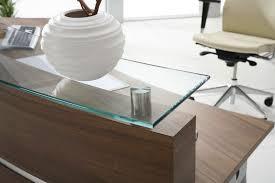 Reception Desk Wood by Semicircular Reception Desk Wooden Glass Mdf Furniko