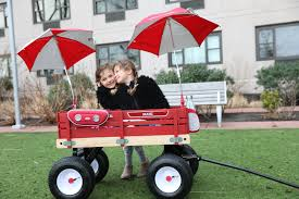 Radio Flyer Wagons Used How To Tell Age Little Red Wagon Day Stroller In The City