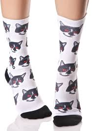 stance zombie cat tomboy socks dolls kill