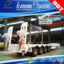 semi truck manufacturers best manufacturer low loader low bed semi trailer dimensions for