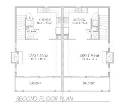 great room floor plans sunkist duplex 9171 3 bedrooms and 2 baths the house designers