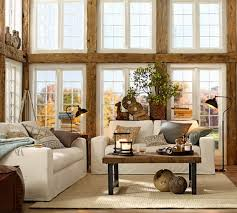 Pottery Barn Boston Ma Griffin Reclaimed Wood Coffee Table Pottery Barn Living Room
