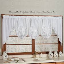 kitchen curtain valances of needs swag valances touch of class