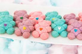 cotton candy spritz cookies beagoodcookie bake love give