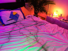 pink neon led lights in bedroom apttherapy pinterest