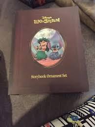 disney storybook ornament sets lilo and stitch ebay