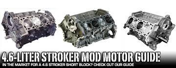 rebuilt 4 6 mustang engine buyer s guide to ford modular 4 6 liter blocks stangtv