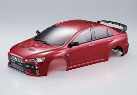 red mitsubishi lancer killerbody mitsubishi lancer evolution rc cars rc parts and rc