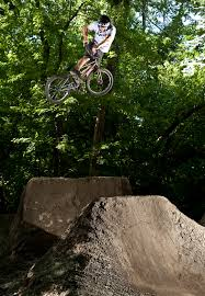 Bmx Backyard Dirt Jumps Biking Dirt Trails And Opening Kids U0027 Minds Are The Two Lives Of