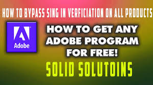 how to bypass adobe sign in process of any adobe software youtube