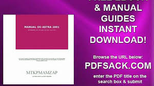 manual do astra 2001 video dailymotion