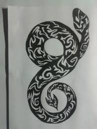tribal dragon tattoo design drawings pinterest tribal dragon