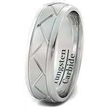 matte black mens wedding bands wedding band tungsten ring matte brushed zigzag groove wedding
