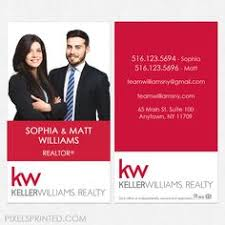 Realtor Business Card Template This Modern Vertical Keller Williams Business Card Template
