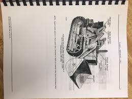 john deere jd 440 icd crawler tractor loader parts manual book