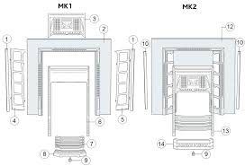 gas fireplace parts diagram for sale buck stove insert