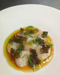 cuisiniste st malo diver scallops from st malo apple juice elderflower dill