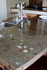 Kitchen Counter Ideas by Best 25 Concrete Kitchen Countertops Ideas On Pinterest Farm