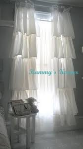 How To Make Ruffled Curtains 40 Shabby Chic Decor Ideas And Diy Tutorials 2017