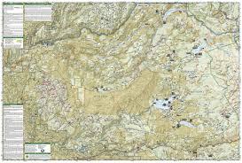 Desolation Wilderness Map Crystal Basin Silver Fork Eldorado National Forest National