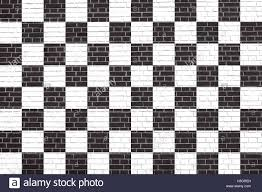 Checker Flag Checkered Racing Flag Symbolic Design Of End Of Car Race Black