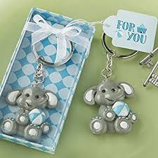 baby keychain lunaura party keepsake set of 12 baby elephant key