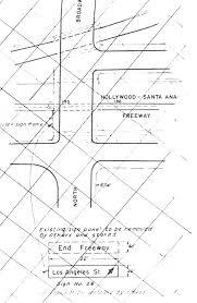 Coast Starlight Route Map by Us 101 Ventura Hollywood Santa Ana Freeways Southern