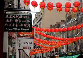 chinese new year home decorations free images street flower alley decoration new year china