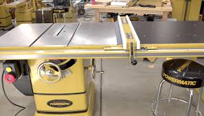 powermatic 10 inch table saw assembly of a pm2000 table saw the wood whisperer