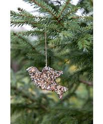 how to make bird seed ornaments u2013 homemade christmas bird feeders