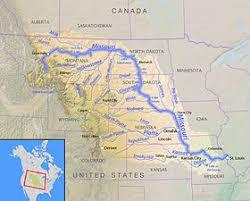 map of missouri river missouri river