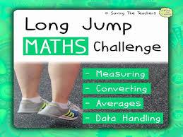 math long jump challenge by adamjharvey245 teaching resources tes