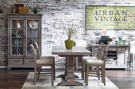 prospect hill trestle counter height dining set casual dining