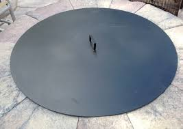 Firepit Lid The Indispensable Metal Cover For A Pit Place And Pits