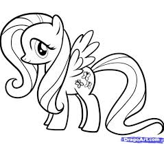 my little pony coloring pages fluttershy little pony friendship is