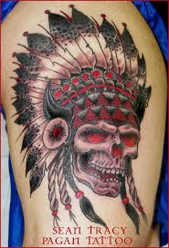 indian skull tattoos tattoo collections