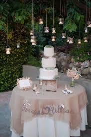 wedding cake table wonderful detail filled southwestern desert flower themed wedding
