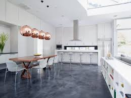 Polished Kitchen Floor Tiles - flooring cement kitchen floor best flooring for kitchen concrete