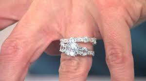 qvc wedding bands wedding rings diamonique vs real qvc diamonique