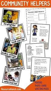 109 best community helpers unit images on pinterest community